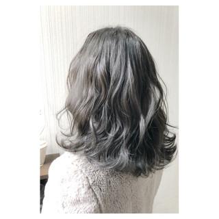 ガーリー オフィス 外国人風カラー デート ヘアスタイルや髪型の写真・画像