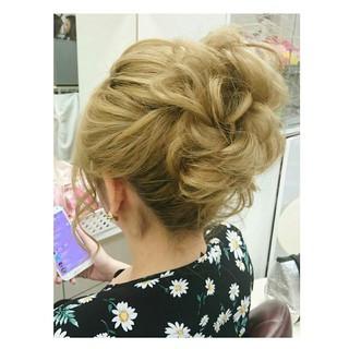 結婚式 ガーリー 女子会 大人かわいい ヘアスタイルや髪型の写真・画像