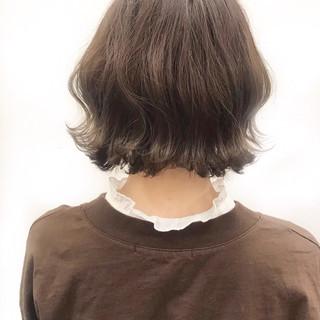 アウトドア パーマ ゆるふわ ナチュラル ヘアスタイルや髪型の写真・画像