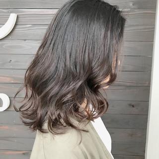 秋 グラデーションカラー ナチュラル 透明感 ヘアスタイルや髪型の写真・画像 ヘアスタイルや髪型の写真・画像