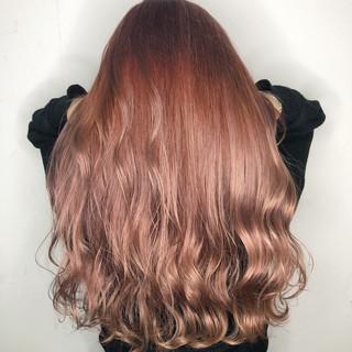 ヘアカラー ペールピンク 透明感 外国人風カラー ヘアスタイルや髪型の写真・画像
