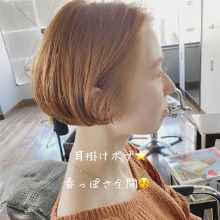 透明感 ボブ モテボブ ボブヘアー ヘアスタイルや髪型の写真・画像