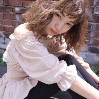 ボブ ニュアンス ナチュラル 大人女子 ヘアスタイルや髪型の写真・画像