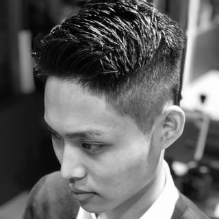 刈り上げ メンズカット メンズ メンズスタイル ヘアスタイルや髪型の写真・画像