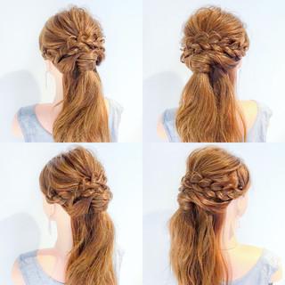 ロング フェミニン デート 女子会 ヘアスタイルや髪型の写真・画像