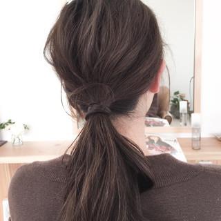 簡単ヘアアレンジ 艶髪 大人かわいい ショート ヘアスタイルや髪型の写真・画像
