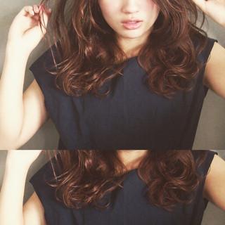 ゆるふわ ハイライト パーマ 大人かわいい ヘアスタイルや髪型の写真・画像