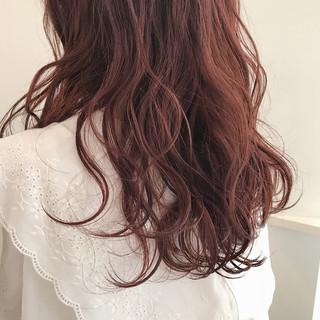 ナチュラル 暖色 ハイライト 透明感カラー ヘアスタイルや髪型の写真・画像