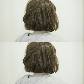 ボブ ふわふわ 大人女子 大人かわいい ヘアスタイルや髪型の写真・画像
