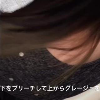 セミロング 春 インナーカラー モード ヘアスタイルや髪型の写真・画像