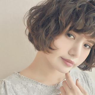 かわいい 暗髪 モテ髪 ボブ ヘアスタイルや髪型の写真・画像