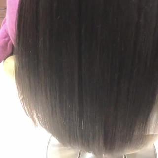 ストレート 艶髪 ロング ナチュラル ヘアスタイルや髪型の写真・画像