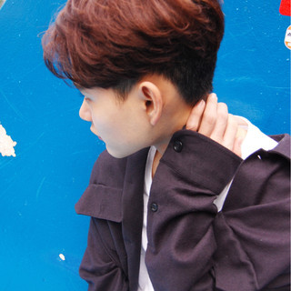 秋 ボーイッシュ 冬 ストリート ヘアスタイルや髪型の写真・画像