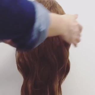 ショート フェミニン ゆるふわ 簡単ヘアアレンジ ヘアスタイルや髪型の写真・画像