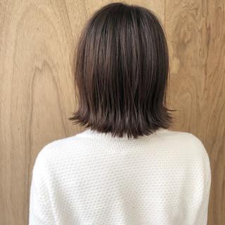 ボブ 切りっぱなしボブ 外ハネボブ ミニボブ ヘアスタイルや髪型の写真・画像