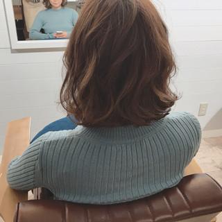 スポーツ ミディアム デート 大人かわいい ヘアスタイルや髪型の写真・画像