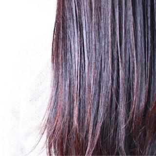 アッシュバイオレット ナチュラル パープル ゆるふわ ヘアスタイルや髪型の写真・画像