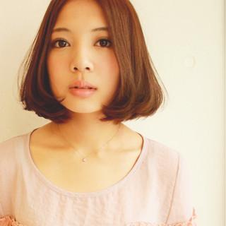パーマ ミディアム 外国人風 アッシュ ヘアスタイルや髪型の写真・画像 ヘアスタイルや髪型の写真・画像