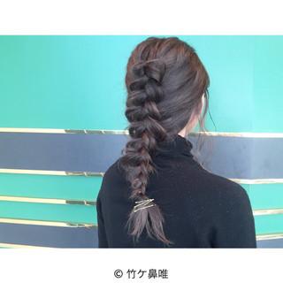 ショート ガーリー ロング アッシュ ヘアスタイルや髪型の写真・画像