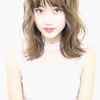 色気 ハイトーン 夏 ヘアアレンジ ヘアスタイルや髪型の写真・画像