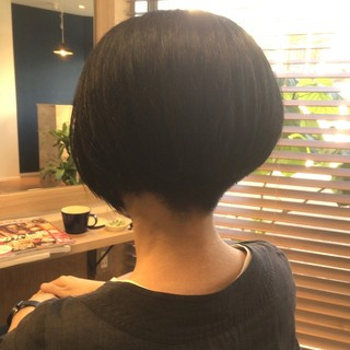 モード かっこいい ショート 大人女子 ヘアスタイルや髪型の写真・画像