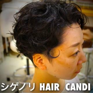 ショート グラデーションカラー 大人かわいい 黒髪 ヘアスタイルや髪型の写真・画像