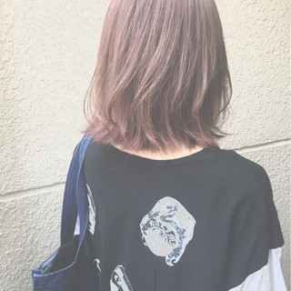 ハイライト アッシュ 大人かわいい 外国人風 ヘアスタイルや髪型の写真・画像 ヘアスタイルや髪型の写真・画像