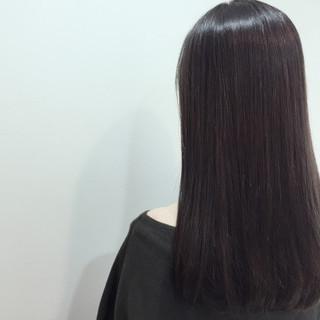 ガーリー グラデーションカラー 暗髪 アッシュ ヘアスタイルや髪型の写真・画像 ヘアスタイルや髪型の写真・画像