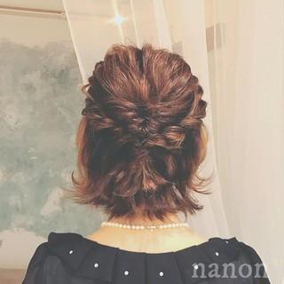 外ハネ エレガント 上品 春 ヘアスタイルや髪型の写真・画像