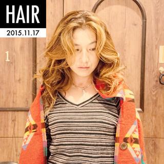 アッシュ 外国人風 ストリート ロング ヘアスタイルや髪型の写真・画像