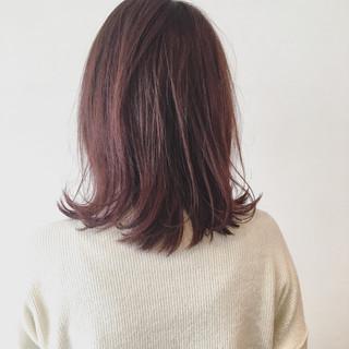 ボブ ナチュラル 色気 冬 ヘアスタイルや髪型の写真・画像