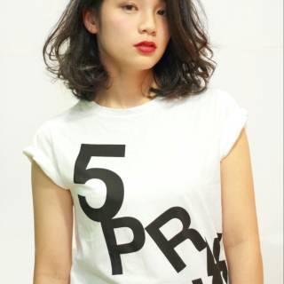 ストリート 黒髪 外国人風 モード ヘアスタイルや髪型の写真・画像