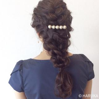 ゆるふわ ヘアアレンジ 結婚式 大人かわいい ヘアスタイルや髪型の写真・画像 ヘアスタイルや髪型の写真・画像