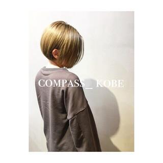 イノセントカラー ボブ アッシュ ナチュラル ヘアスタイルや髪型の写真・画像 ヘアスタイルや髪型の写真・画像