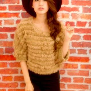 秋 大人かわいい 三つ編み ヘアアレンジ ヘアスタイルや髪型の写真・画像