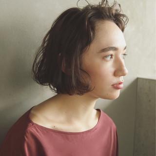 外国人風 色気 ナチュラル パーマ ヘアスタイルや髪型の写真・画像