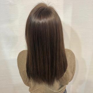ナチュラル ロング ハイライト 地毛ハイライト ヘアスタイルや髪型の写真・画像