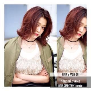 マルサラ ゆるふわ 抜け感 大人かわいい ヘアスタイルや髪型の写真・画像