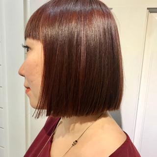 色気 ボブ 切りっぱなし ロブ ヘアスタイルや髪型の写真・画像 ヘアスタイルや髪型の写真・画像