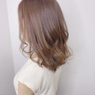 ヘアカラー ナチュラル デート 外国人風カラー ヘアスタイルや髪型の写真・画像
