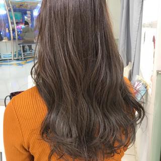 デート グレージュ オフィス ヘアアレンジ ヘアスタイルや髪型の写真・画像