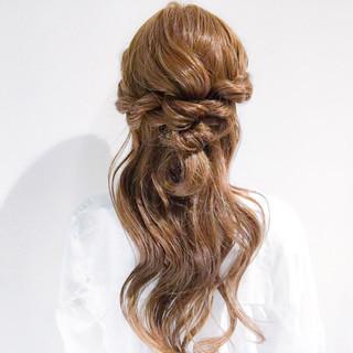 大人かわいい 上品 デート ロング ヘアスタイルや髪型の写真・画像