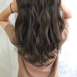 秋 ナチュラル ハイライト 透明感 ヘアスタイルや髪型の写真・画像