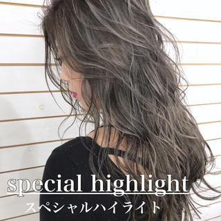 ヘアカラー ダブルカラー ロング 外国人風カラー ヘアスタイルや髪型の写真・画像