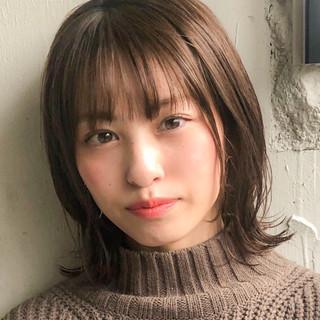アンニュイほつれヘア ショートボブ デジタルパーマ 大人かわいい ヘアスタイルや髪型の写真・画像