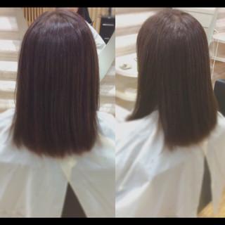 髪質改善トリートメント ヘアケア 社会人の味方 髪質改善カラー ヘアスタイルや髪型の写真・画像
