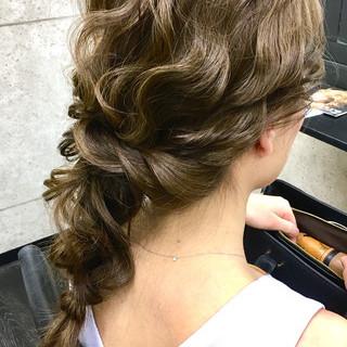 成人式 結婚式 卒業式 ヘアアレンジ ヘアスタイルや髪型の写真・画像