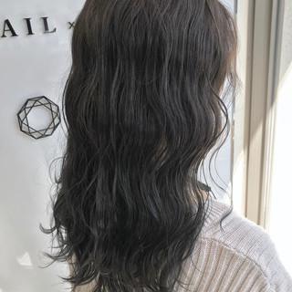 外国人風カラー グレージュ ハイライト 外国人風 ヘアスタイルや髪型の写真・画像
