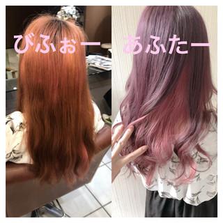 ピンクアッシュ 大人可愛い アンニュイほつれヘア 大人かわいい ヘアスタイルや髪型の写真・画像