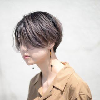 ストリート ショート 3Dハイライト 外国人風カラー ヘアスタイルや髪型の写真・画像